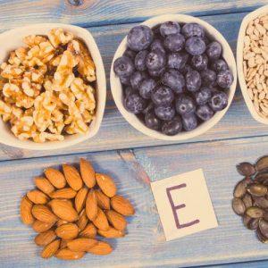 Vitaminas para los ojos Vitamina E