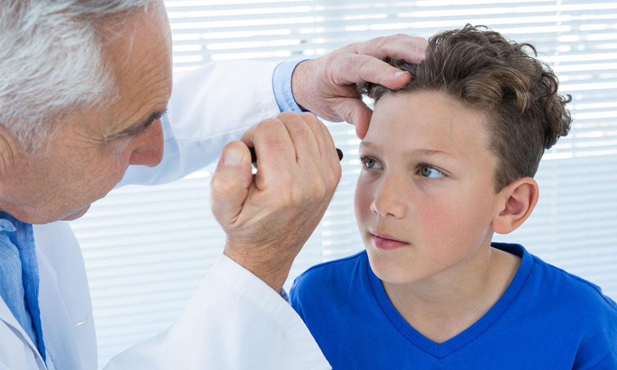 Como cuidar los ojos de los niños